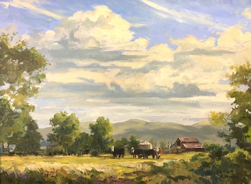 On the Farm 36x48