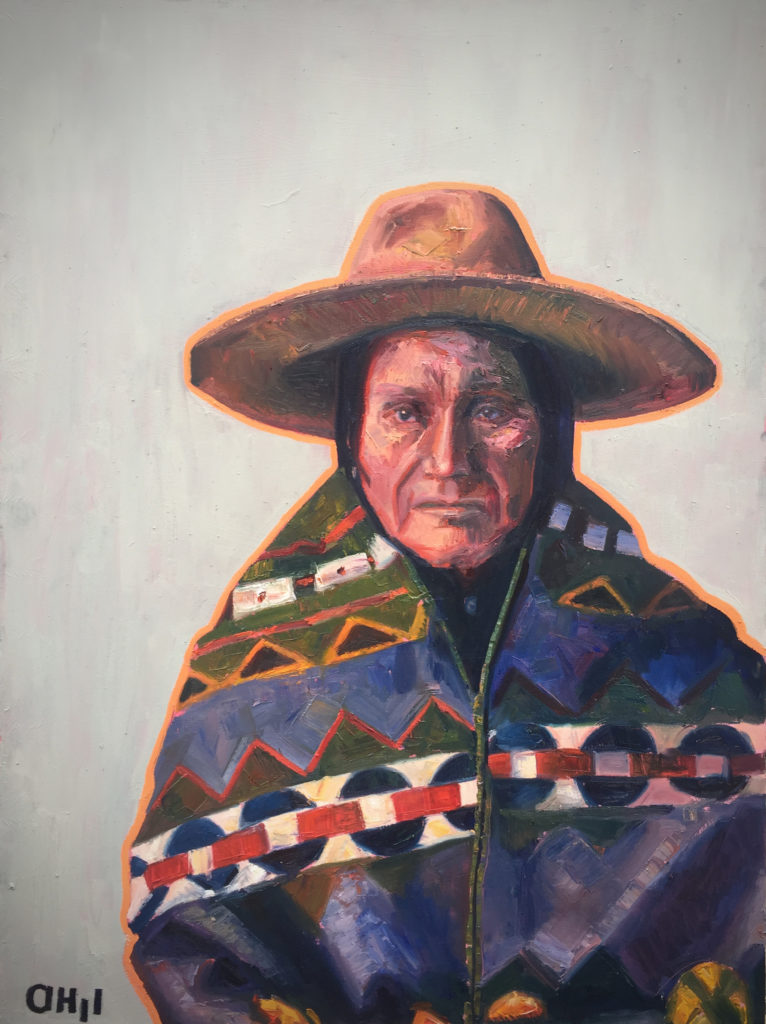 Umatilla Chief 36x48