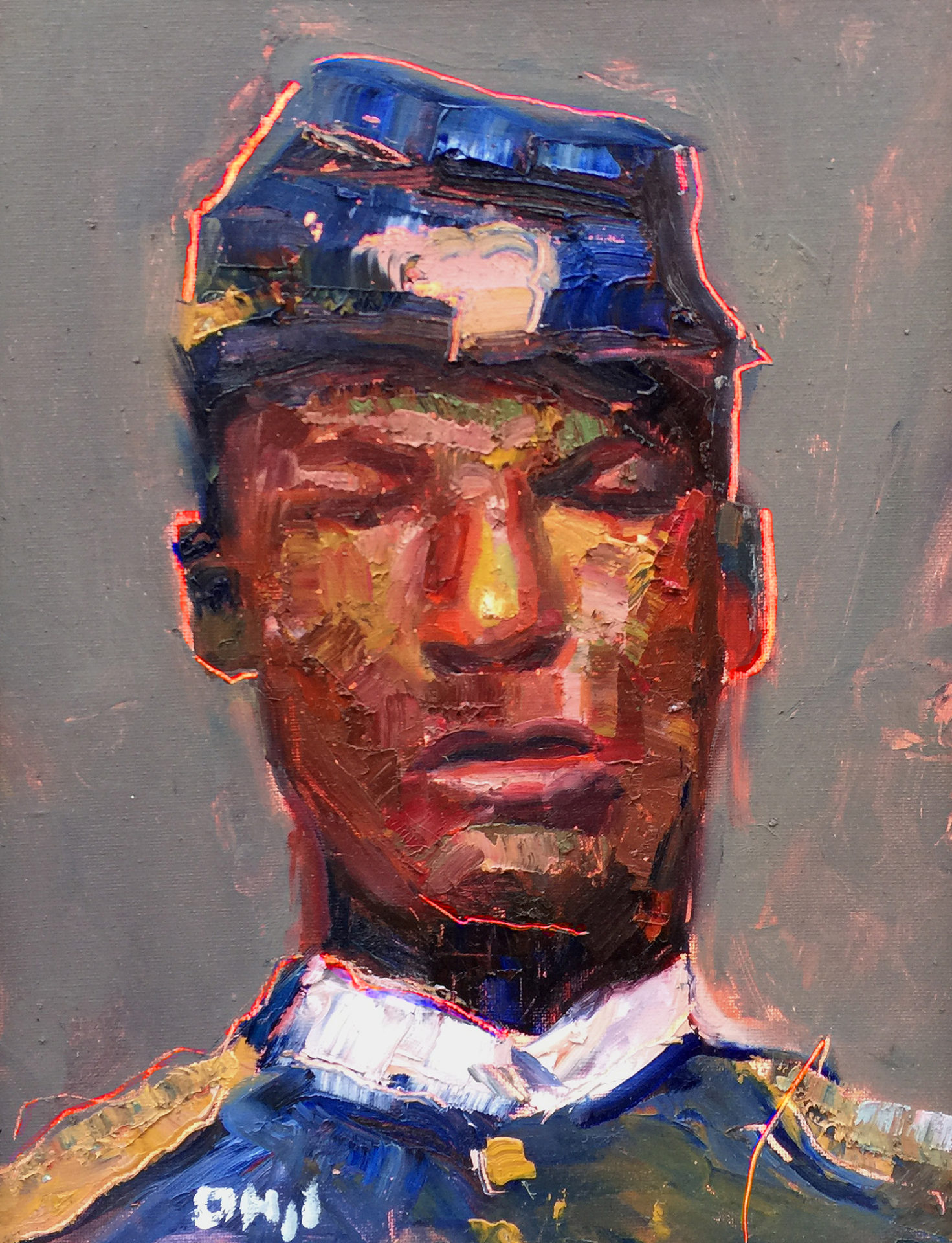 Unknown Buffalo Soldier 11x14